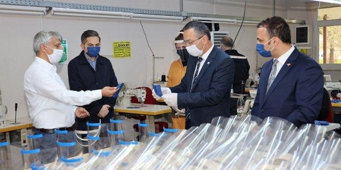 ODÜ'de maske üretimi başladı