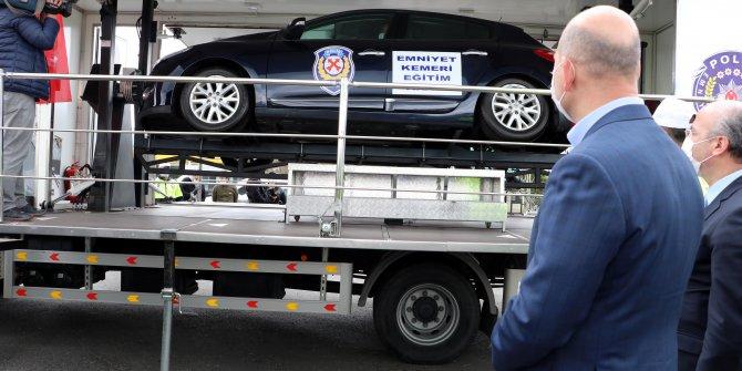 Bakan Soylu: Trafik kazaları ölüm oranında hedefimiz AB seviyesi