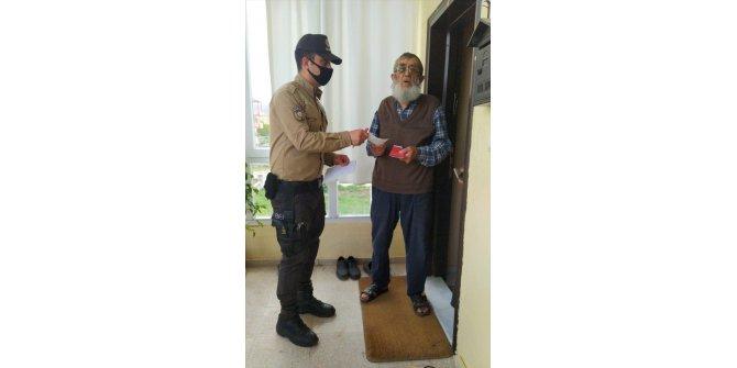 """Nevşehir'de emekli vatandaş """"Milli Dayanışma Kampanyası""""na 5 bin lira bağışladı"""