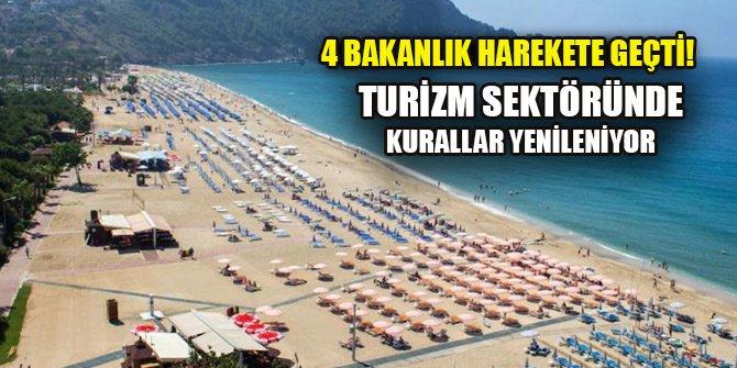 4 bakanlık harekete geçti! Türkiye'de turizm sektöründe kurallar yenileniyor