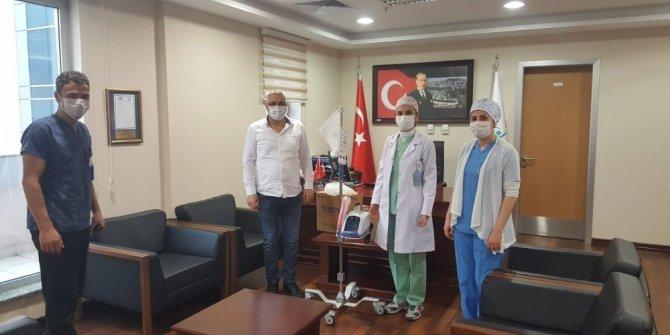 İşadamlarından Kdz. Ereğli Devlet Hastanesi'ne solunum cihazı bağışı