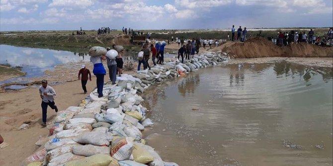 Özbekistan'daki barajın çökmesi nedeniyle Kazakistan'da 30 bin kişi tahliye edildi