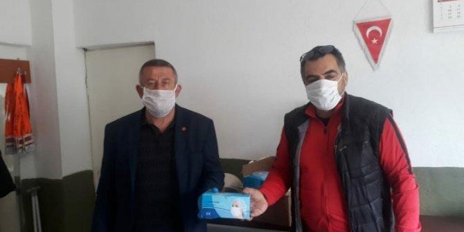 Balıkesir ASKF'den maske desteği