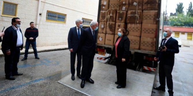 Türkiye'den Filistin'e tıbbi malzeme yardımı