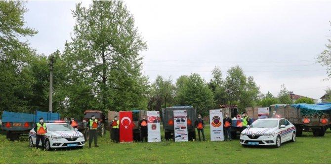 Güvenli traktör kullanımı ve sağlıklı tarım projesi Düzce'de hayata geçirildi