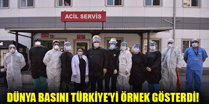 Dünya basını Türkiye'yi örnek gösterdi!