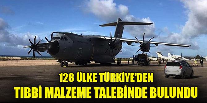 Çavuşoğlu: 128 ülke Türkiye'den tıbbi malzeme talebinde bulundu