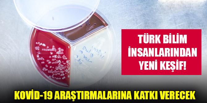 Türk bilim insanlarından Kovid-19 araştırmalarına katkı verecek yeni keşif