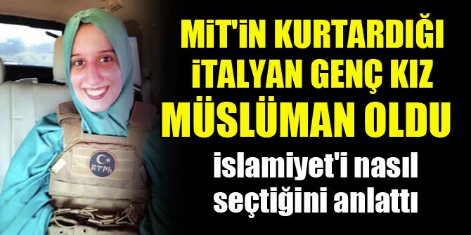 MİT'in kurtardığı Romano, Müslüman oldu, İslamiyet'i nasıl seçtiğini anlattı