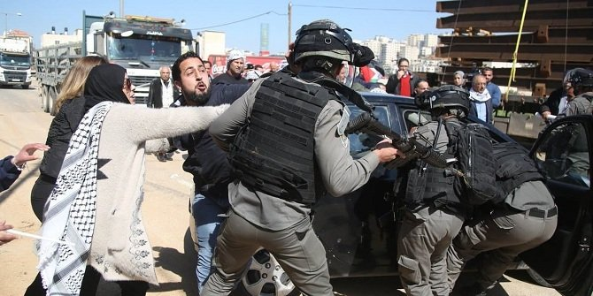 İsrail polisinin şehit ettiği zihinsel engelli Filistinli son yolculuğuna uğurlandı