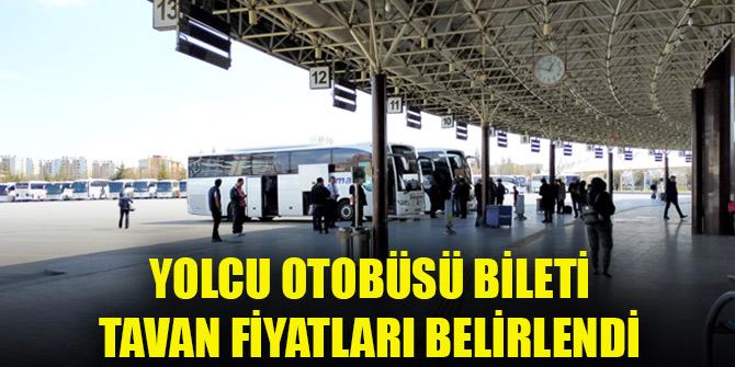 Yolcu otobüsü bileti tavan fiyatları belirlendi!