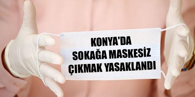 Konya'da açık alanda maske takma zorunluluğu getirildi! Maskesiz sokağa çıkmanın cezası ne kadar?