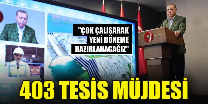 """Erdoğan: """"Çok çalışarak yeni döneme hazırlanacağız"""""""