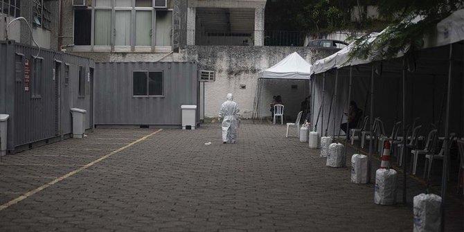 Brezilya'da Kovid-19'dan 888 kişi hayatını kaybetti