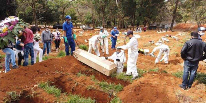 Brazil: Death toll from coronavirus passes 21,000