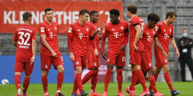 Bayern Münih'ten gol yağmuru!