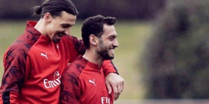 Çalhanoğlu açıkladı: 'Ibrahimovic'in Türkiye'de tuttuğu bir takım var'