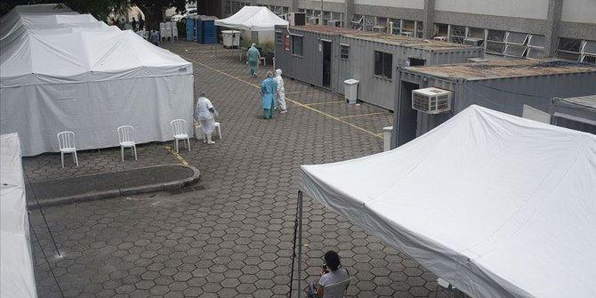 Brezilya'da Kovid-19 nedeniyle son 24 saatte 1039 kişi öldü