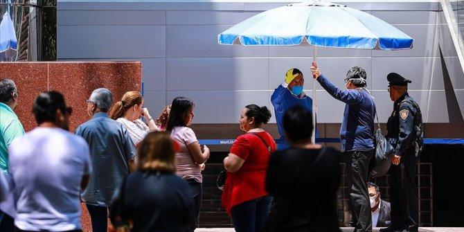 Meksika'da Kovid-19 nedeniyle son 24 saatte 501 ölüm