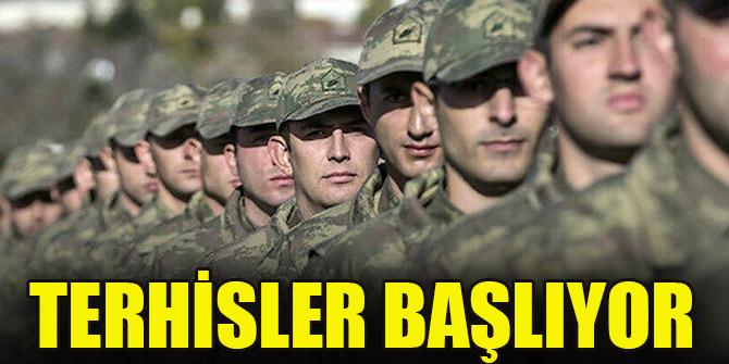 Milli Savunma Bakanı duyurdu: Terhisler başlıyor