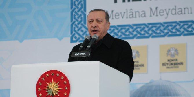 """Erdoğan: """"Konya davamızın kalesidir"""""""