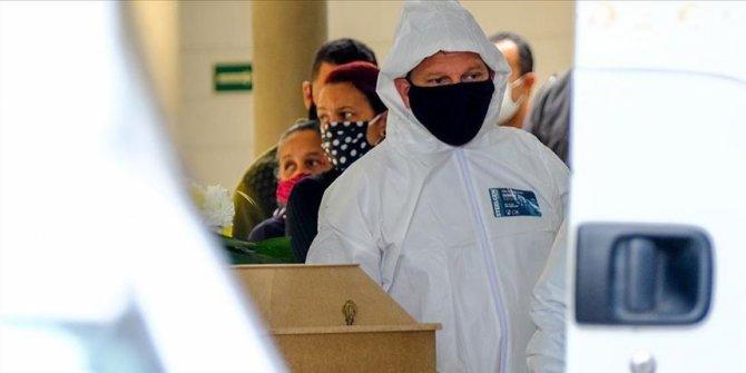 Brezilya'da Kovid-19'dan son 24 saatte 1156 kişi hayatını kaybetti