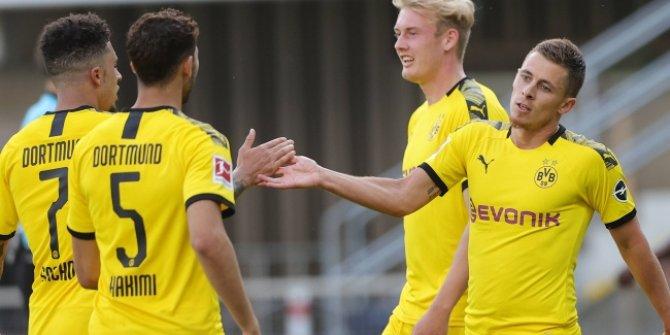 B.Dortmund ikinci yarıda açıldı
