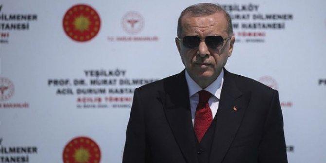 Cumhurbaşkanı Erdoğan'dan Prof. Dr. Murat Dilmener Acil Durum Hastanesi paylaşımı