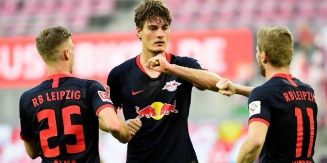 6 gollü maçın kazananı Leipzig
