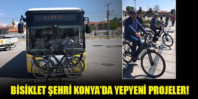 Bisiklet Şehri Konya'da yepyeni projeler!