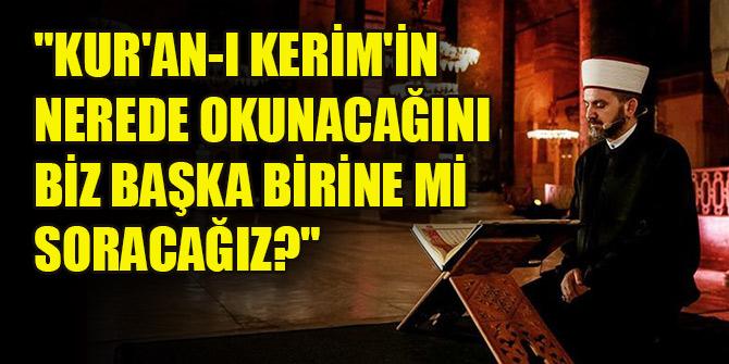 Çavuşoğlu: Ayasofya, Türkiye Cumhuriyeti'nin mülküdür