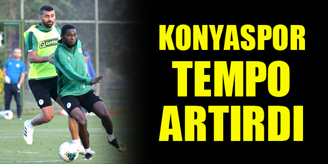 Konyaspor tempo artırdı