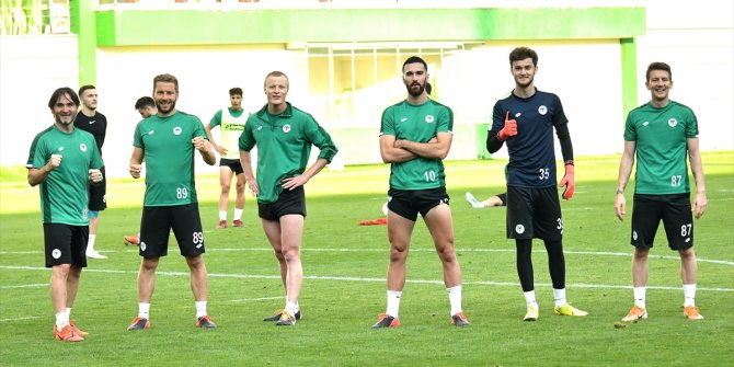 Konyaspor, Gençlerbirliği maçı hazırlıklarına devam etti