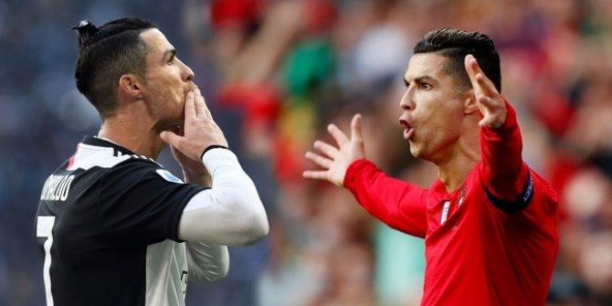 İlk milyarder futbolcu Cristiano Ronaldo