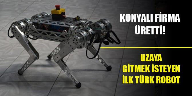 """Konyalı firma üretti! Uzaya gitmek isteyen ilk Türk robot """"ARAT"""""""