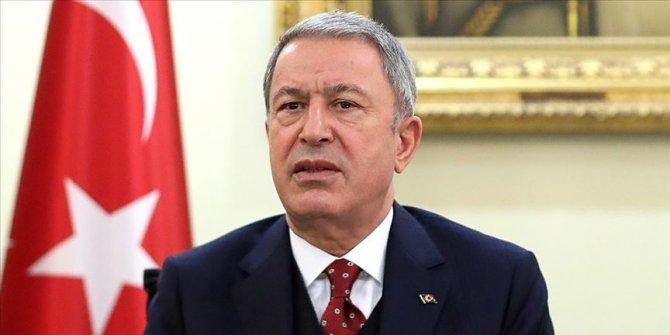 Milli Savunma Bakanı Akar Mersin'e gidiyor