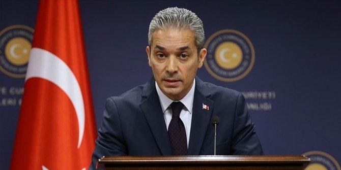 Türkiye'den Mısır'ın 'asılsız ithamlarına' tepki