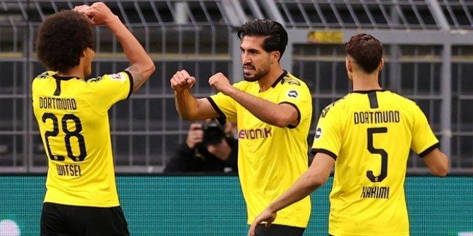 Borussia Dortmund 3 puana Emre Can'la uzandı