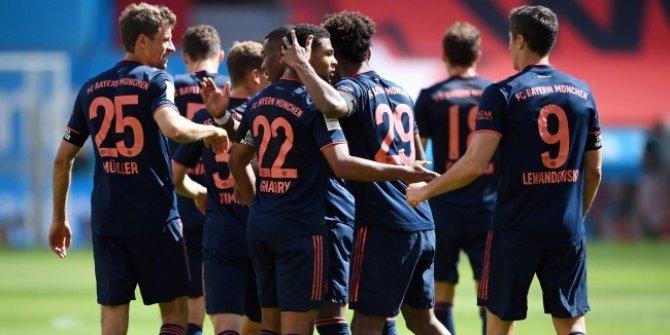 Bayern Münih adım adım şampiyonluğa ilerliyor