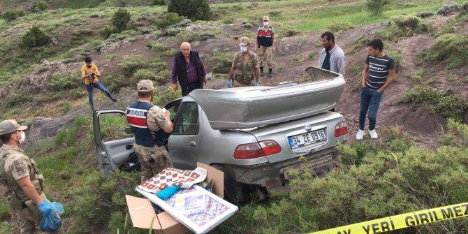 Otomobil uçuruma yuvarlandı: 1 ölü