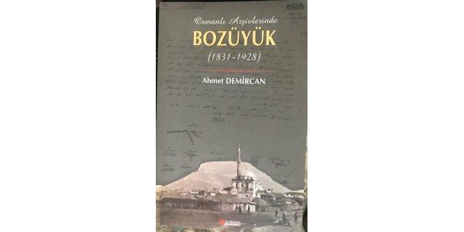 'Osmanlı Arşivlerinde Bozüyük' kitabı yayınlandı