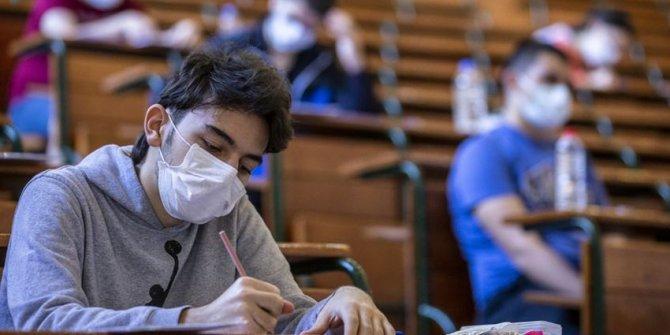 """Sınava girecek öğrencilere """"Maskeyle hazırlanın"""" önerisi"""