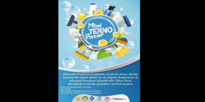 Malatya'da mini tekno pazar etkinliği