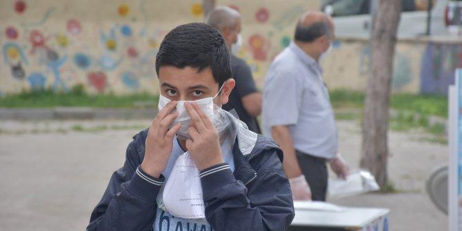 Sivas'ta koronavirüs önlemleri arasında LGS sınavı heyecanı