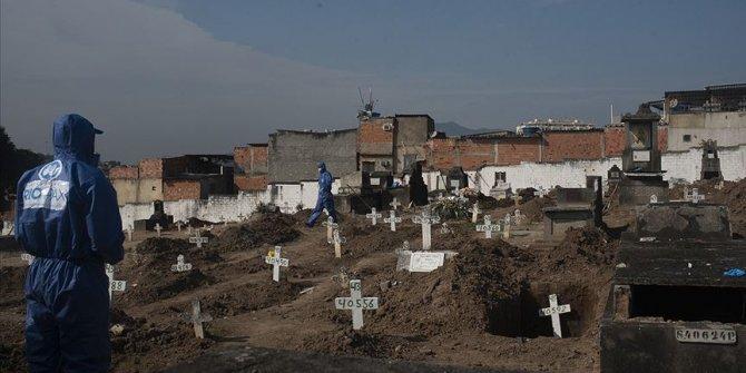 Salgın öldürmeye devam ediyor! Brezilya'da 641, Meksika'da 1044, Hindistan'da 445