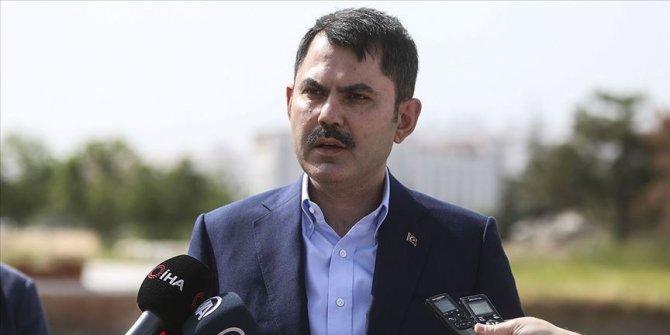 Çevre ve Şehircilik Bakanı Kurum, Artvin'deki sel bölgesinde incelemede bulundu