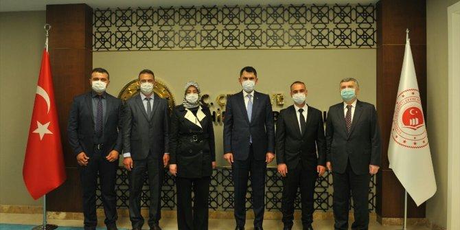 Beyşehir'in planlanan yatırımları bakanlıkta ele alındı