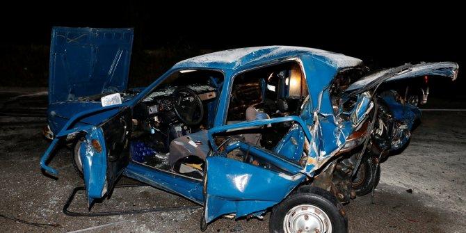 Feci trafik kazası: 1 ölü