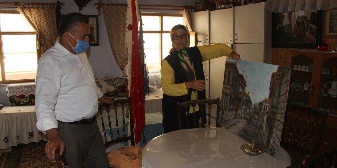 Seydişehir Belediye Başkanı Tutal'dan ressam Kırdar'a ziyaret