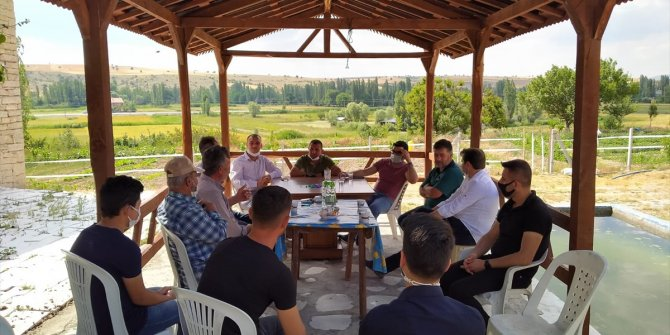 AK Parti Beyşehir İlçe Teşkilatı'nın mahalle ziyaretleri